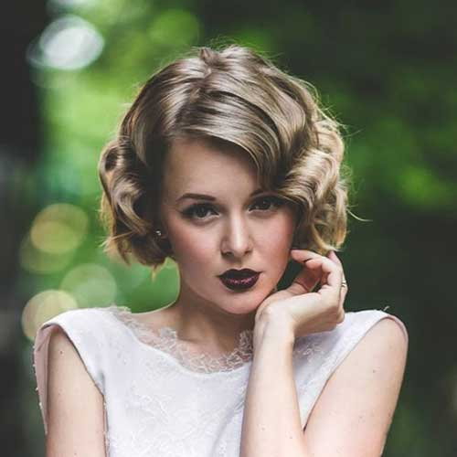 20 Stylish Curly Short Hairstyles For 2018 Summer