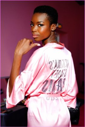 Dilone Black Models with Short Hair