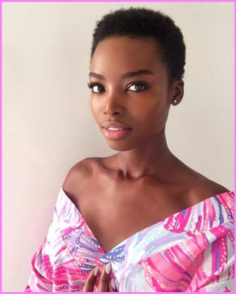 Maria Borges Black Models with Short Hair