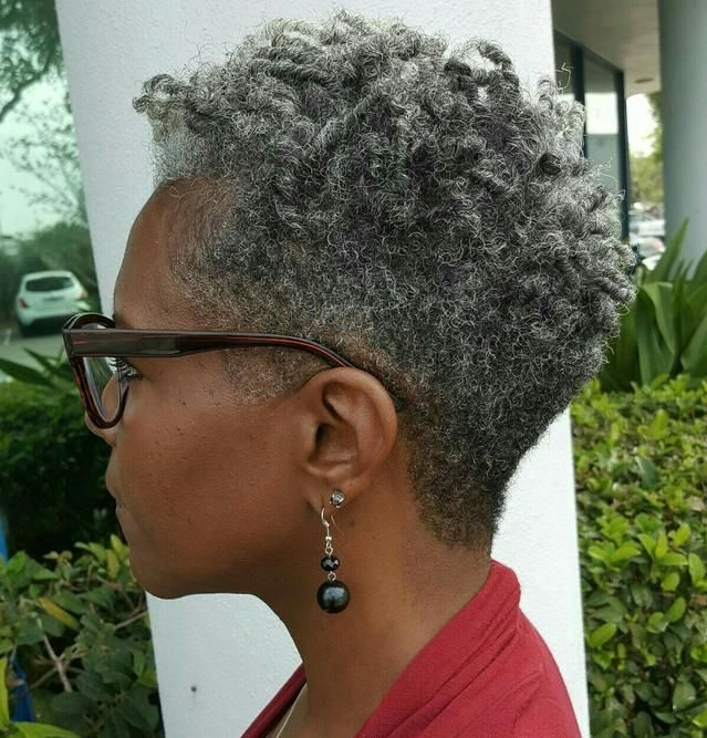 Curly hair natural hair over 50