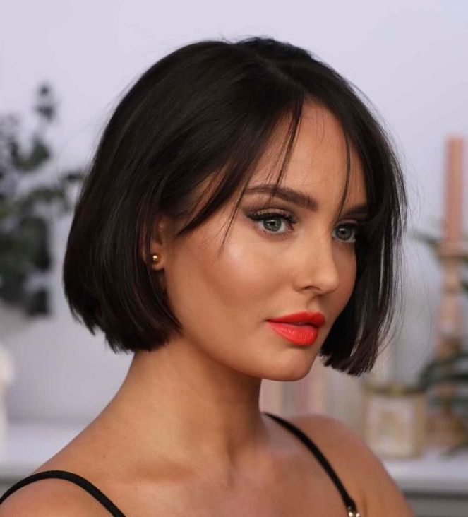 jaw lenght hairstyles