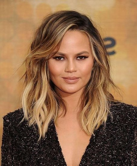 Layered hairstyles round face double chin medium length hairstyles