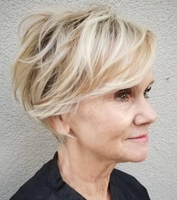 Pixie haircuts short hairstyles for fine hair over 60