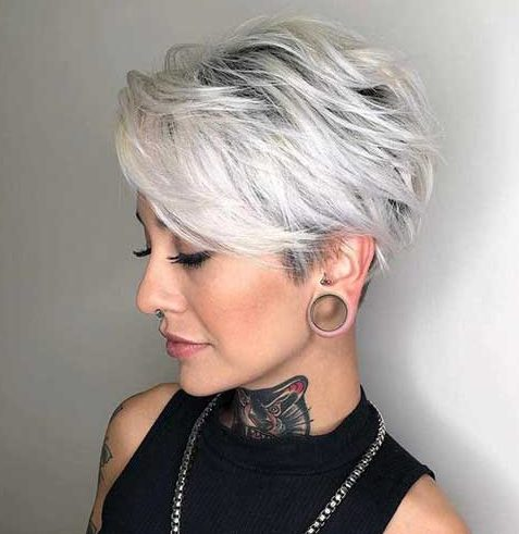 Pixie short hairstyles for women over 50