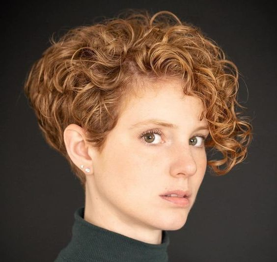 Tapered pixie cut back
