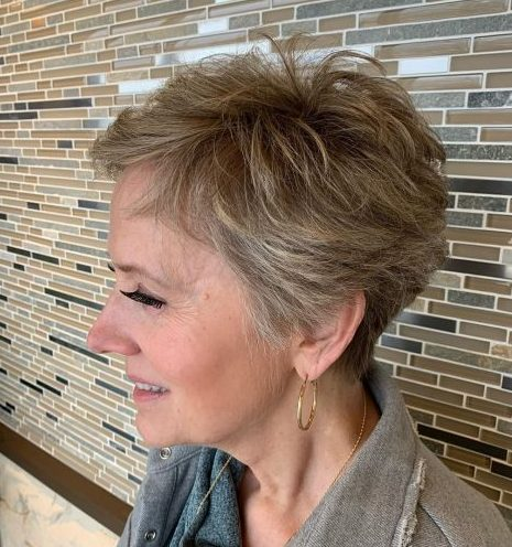 Tomboy hairstyles for older women