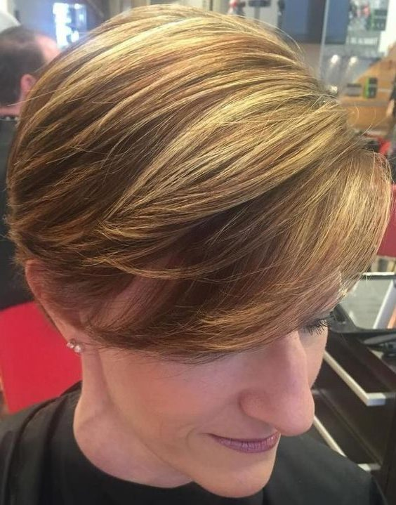 wedge haircuts for over 60