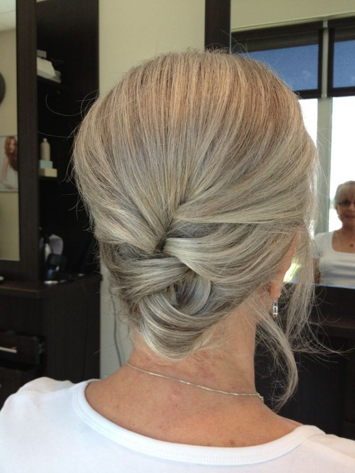 Older updo hairstyles for over 50