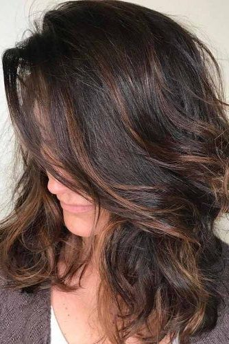 funky hair color over 50