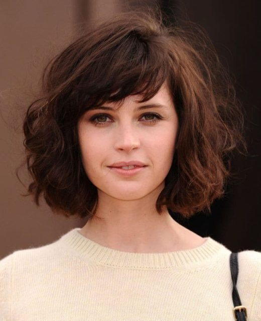 low maintenance choppy short hairstyles for thick hair