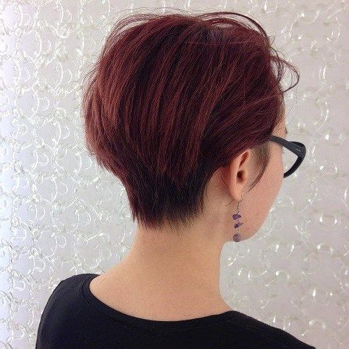 low maintenance short wedge haircuts for fine hair