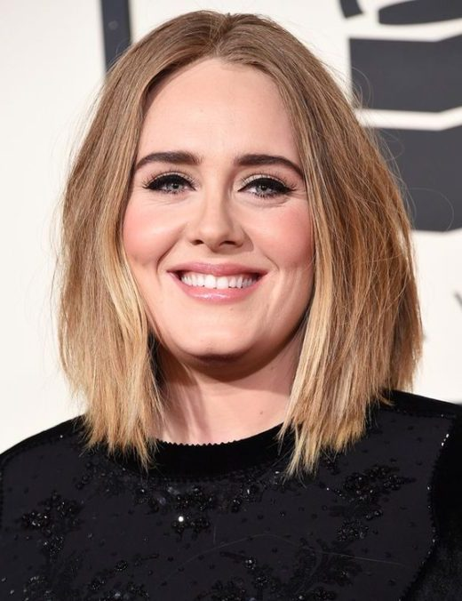 medium length short hairstyles for fat faces and double chins