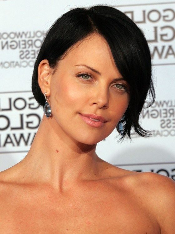 short hair charlize theron hairstyles