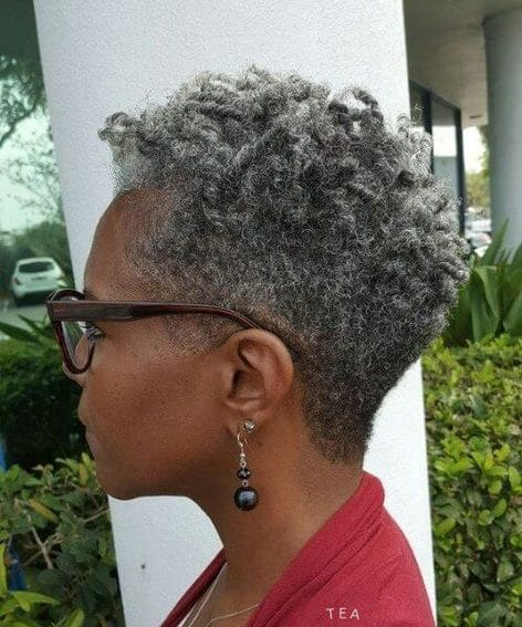 Natural hairstyles for 60 year old black woman